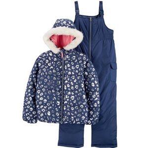 CARTER'S | 🆕 NWT 2-Piece Snowsuit Sz: 6/6X